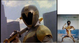 Titanium Ranger Appears on Gokaiger?!