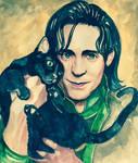 Loki's Prison Companion (gift from Frigga)