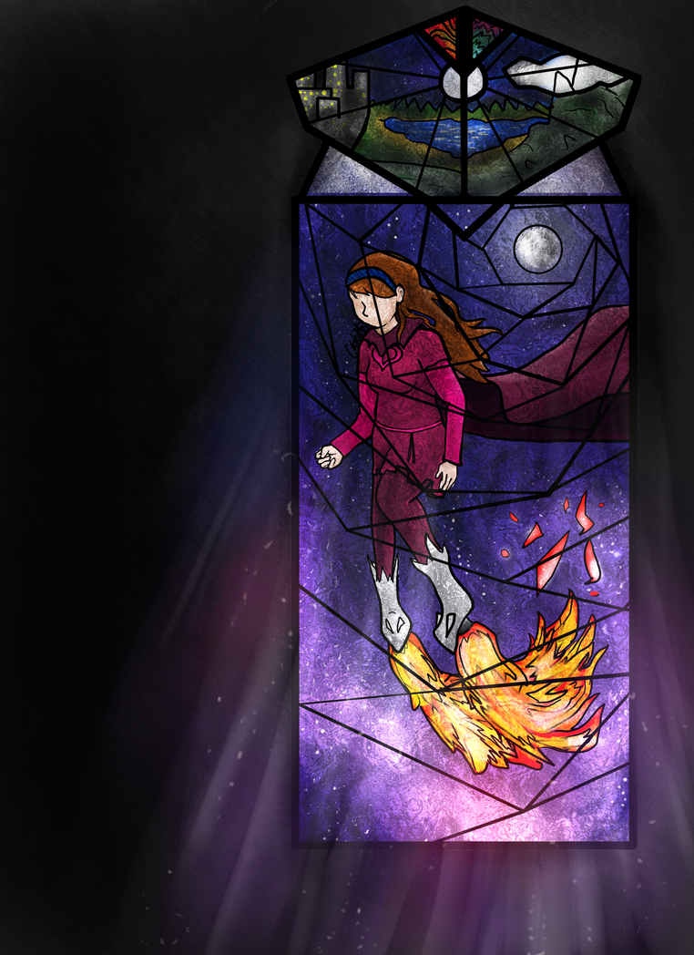 God Tier Self: StainGlass Window Collab by pinkharte