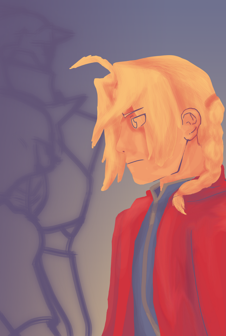 Edward Elric Colour Palette 6 by pinkharte
