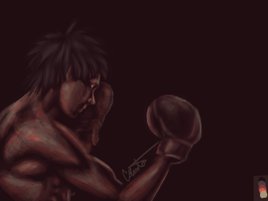 Makunouchi Ippo Colour palette request by pinkharte