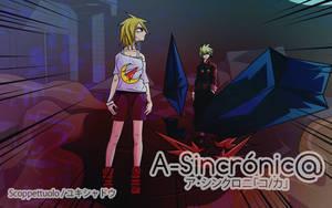 A-Sincronic@ - Wallpaper by Yuki-Tsuki-Hana
