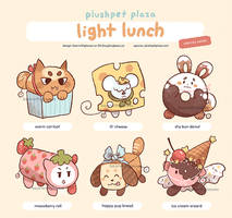 Adoptable: [Plushpets] Light Lunch 1 [CLOSED]