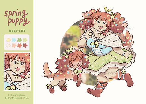 Adoptable: Spring Puppy [Closed]