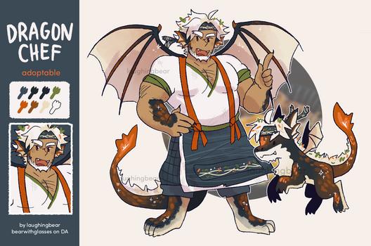 Adoptable: Dragon Chef [CLOSED]