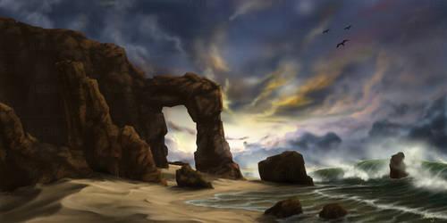The Gate by isyamu