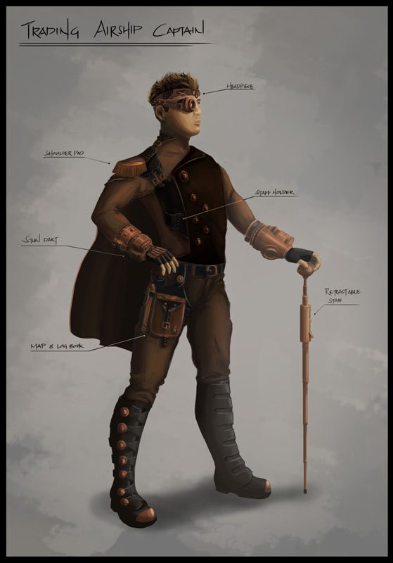 Steampunk Airship Captain | www.imgkid.com - The Image Kid ...