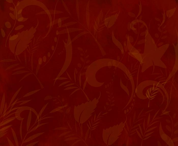 gold leaf on red wallpaper by RoseLH2