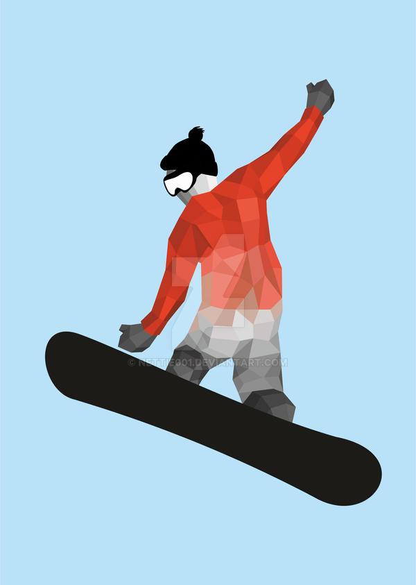 snowboard by nettie001