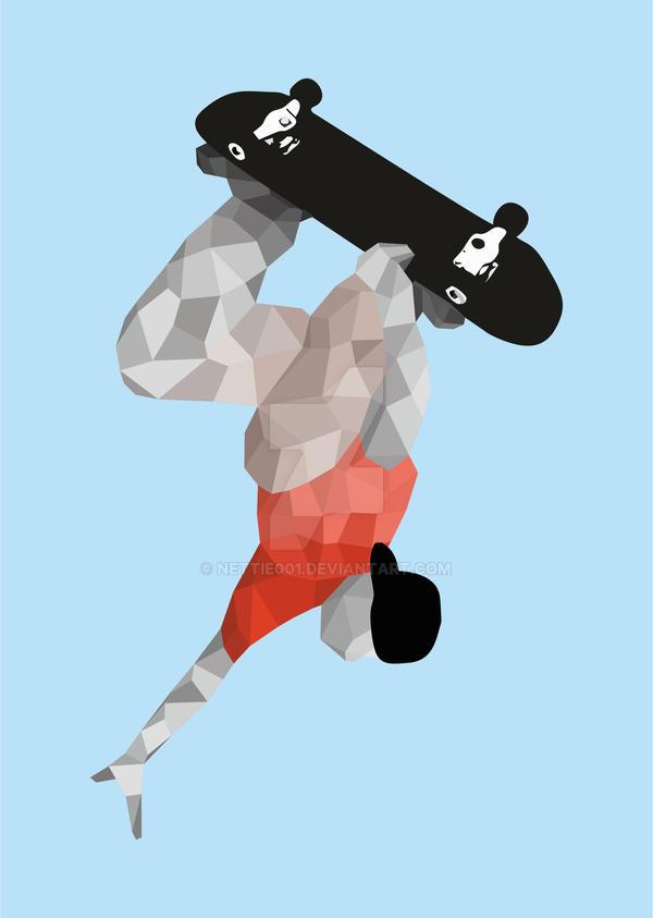 skateboard by nettie001