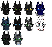 Pixel Icons - Gifts by therealtwilightstar