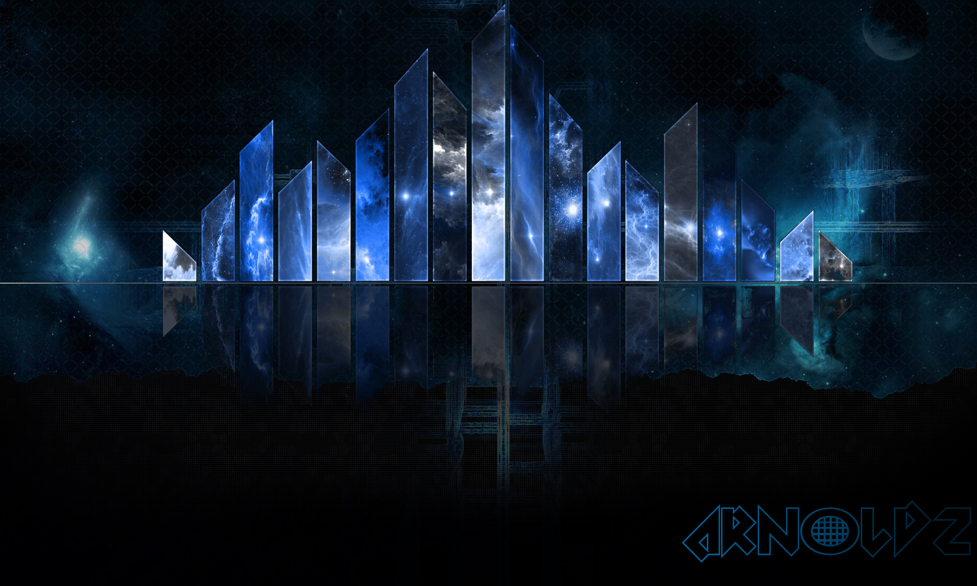 abstract blue background wallpaper hd by iarnoldz on