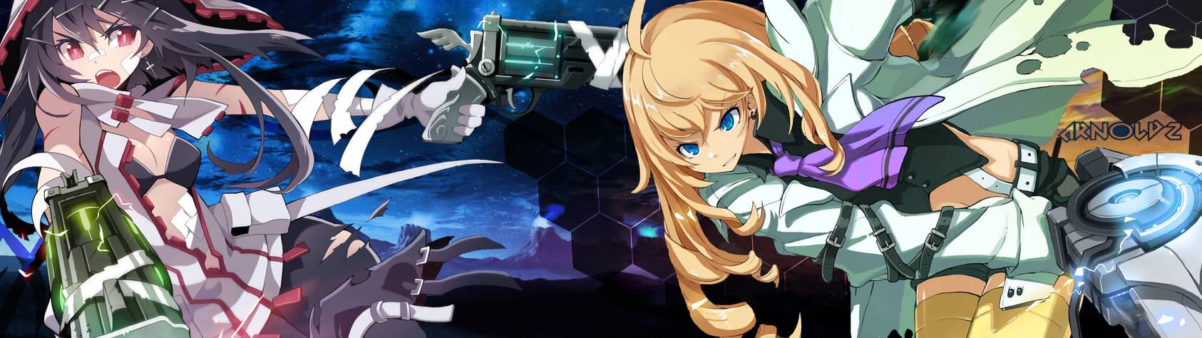Anime Girls Dual Screen/Moniter [3840x1080] by iarnoldz ...