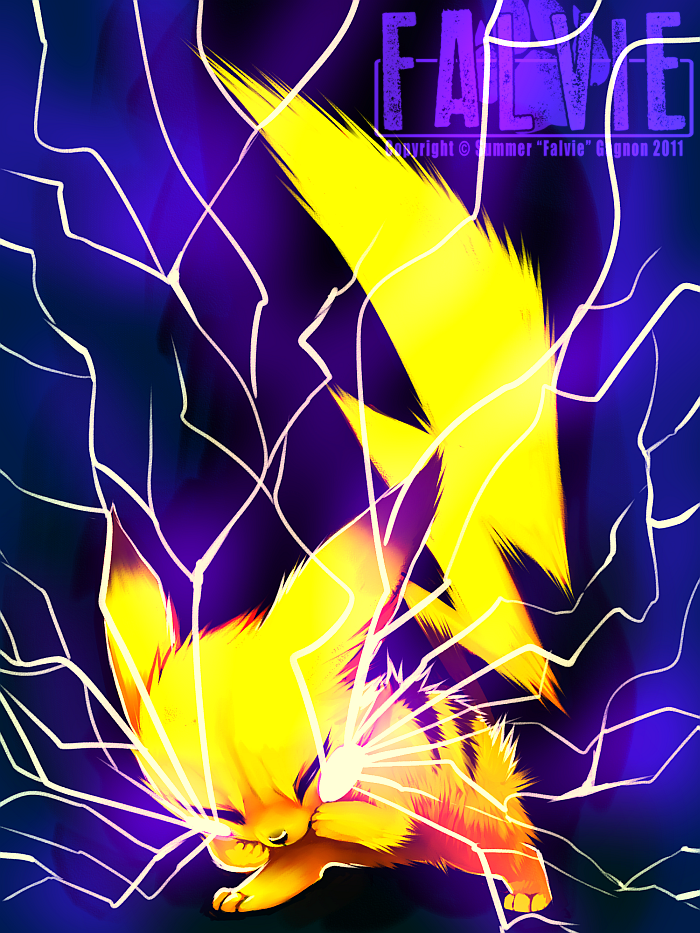 Thundershock by falvie on DeviantArt