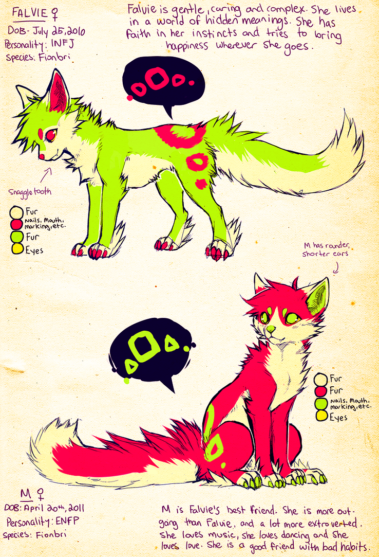 Falvie n Molly Reference 2012 by falvie on DeviantArt