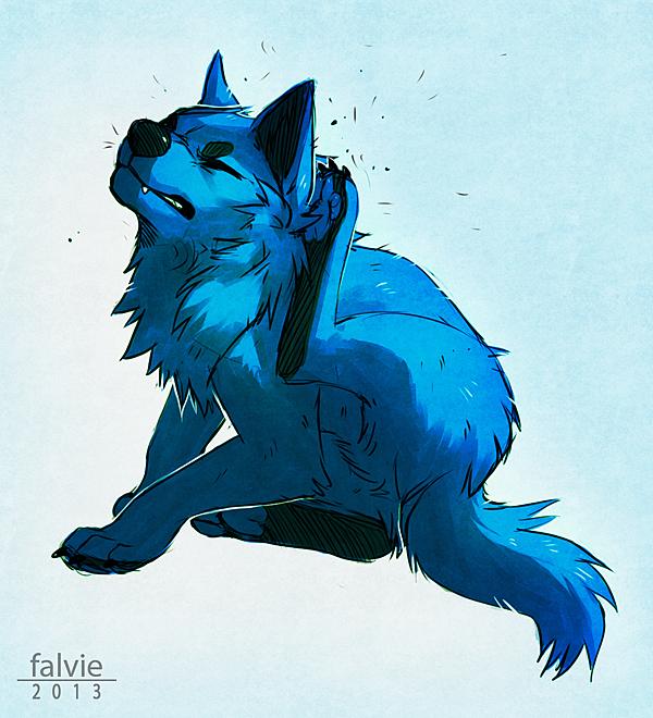 Fleas by falvie