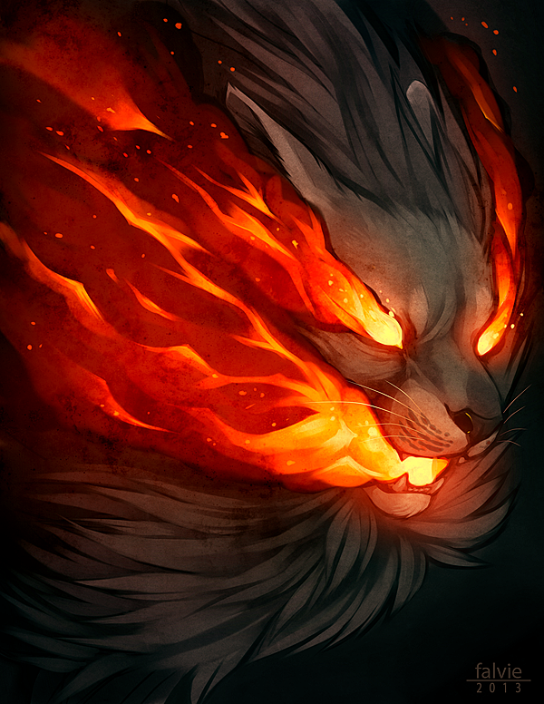 Burn by falvie