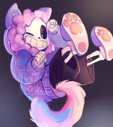 ~ KITTY SANS ~ by RoyalNoir