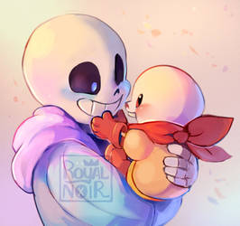 Lil bones, Big bones by RoyalNoir