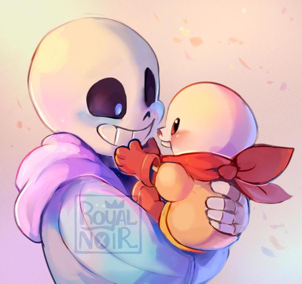 Lil bones, Big bones by RoyalNoir