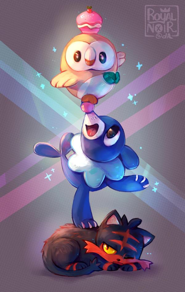 Pokémon Sol y Luna [Séptima Generación] Cmon_guys_let_me_sleep_b__by_royalnoir-da2ft24