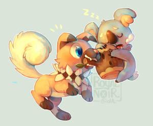 Your Pokemon caught a Pokemon!