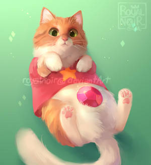 Cosplay Cat: Steven Mewniverse
