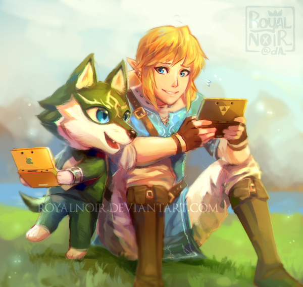 Animal Crossing Link by RoyalNoir