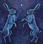 Moonlight Hares