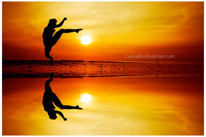 .:Sun Kicker 2:. by curioslife