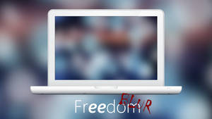 Freedom BLUR - Wallpaper