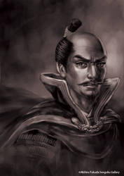 samurai_nobunaga by nabenosuke