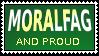 Moralfag stamp by HappyPenguin819