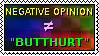 This stamp is butthurt