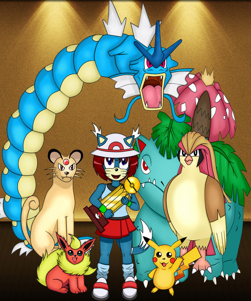 Team leigi pokemon by LeoTheHedgehog15