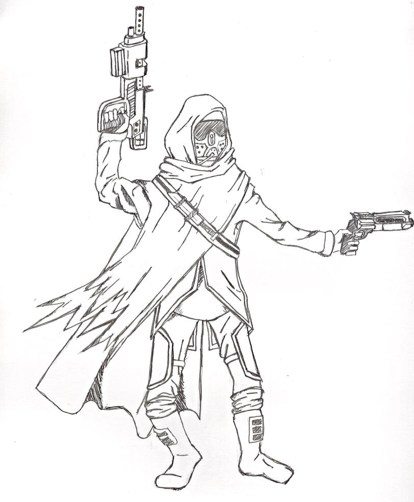 destiny guardian by stephen221b on deviantart