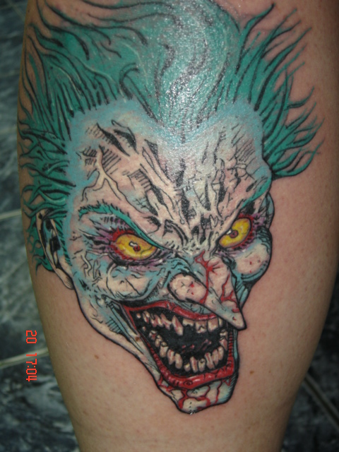 Joker By Gunnart As Mels Tatuagens Do Coringa  Galeria De Fotos