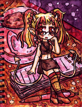 MistressDoodle ATK01 | Tira the sweet writter~