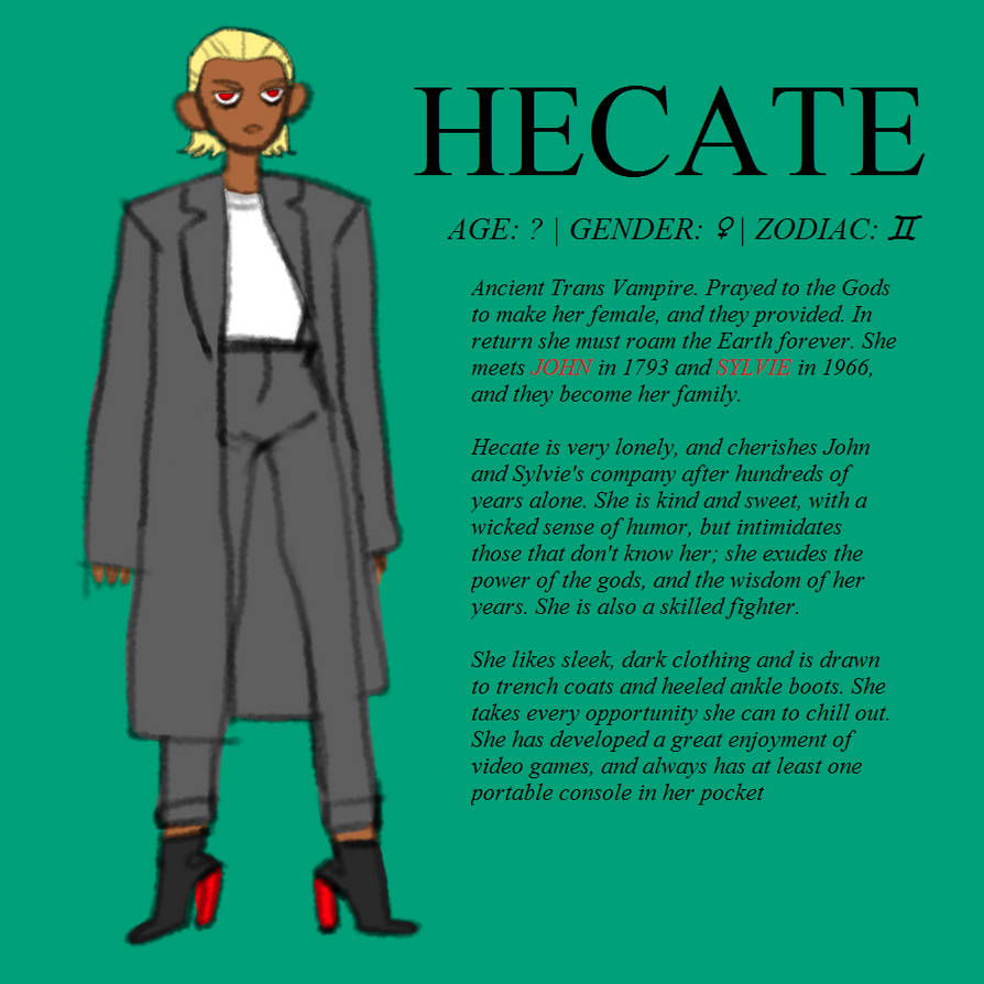 OC: HECATE by lukasnot on DeviantArt