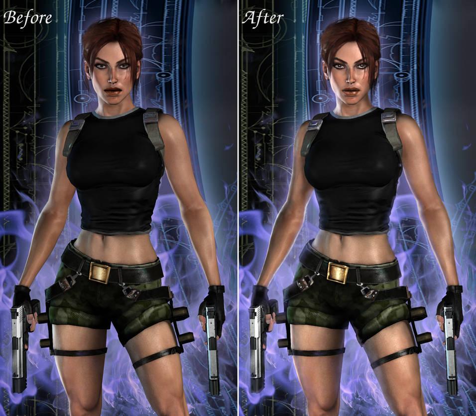 HD Realistic AOD by ViCt0RXD, side-by-side edit