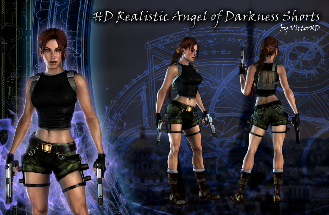 HD Realistic AOD Shorts by ViCt0RXD by JAMsEye