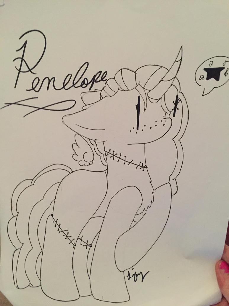 Wip- Penelope by LifysDoodles