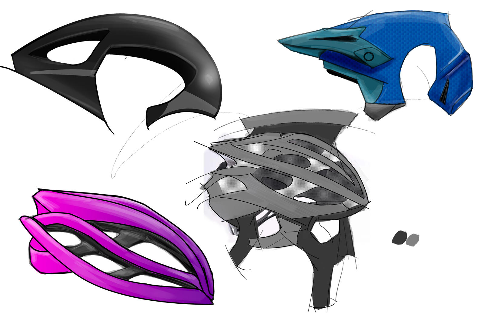 Bike Helmets Page 2 by all-one-line