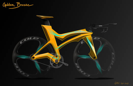 Concept Bike Design - Golden Breeze