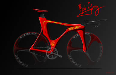 Concept Bike Design - Red Glory by all-one-line