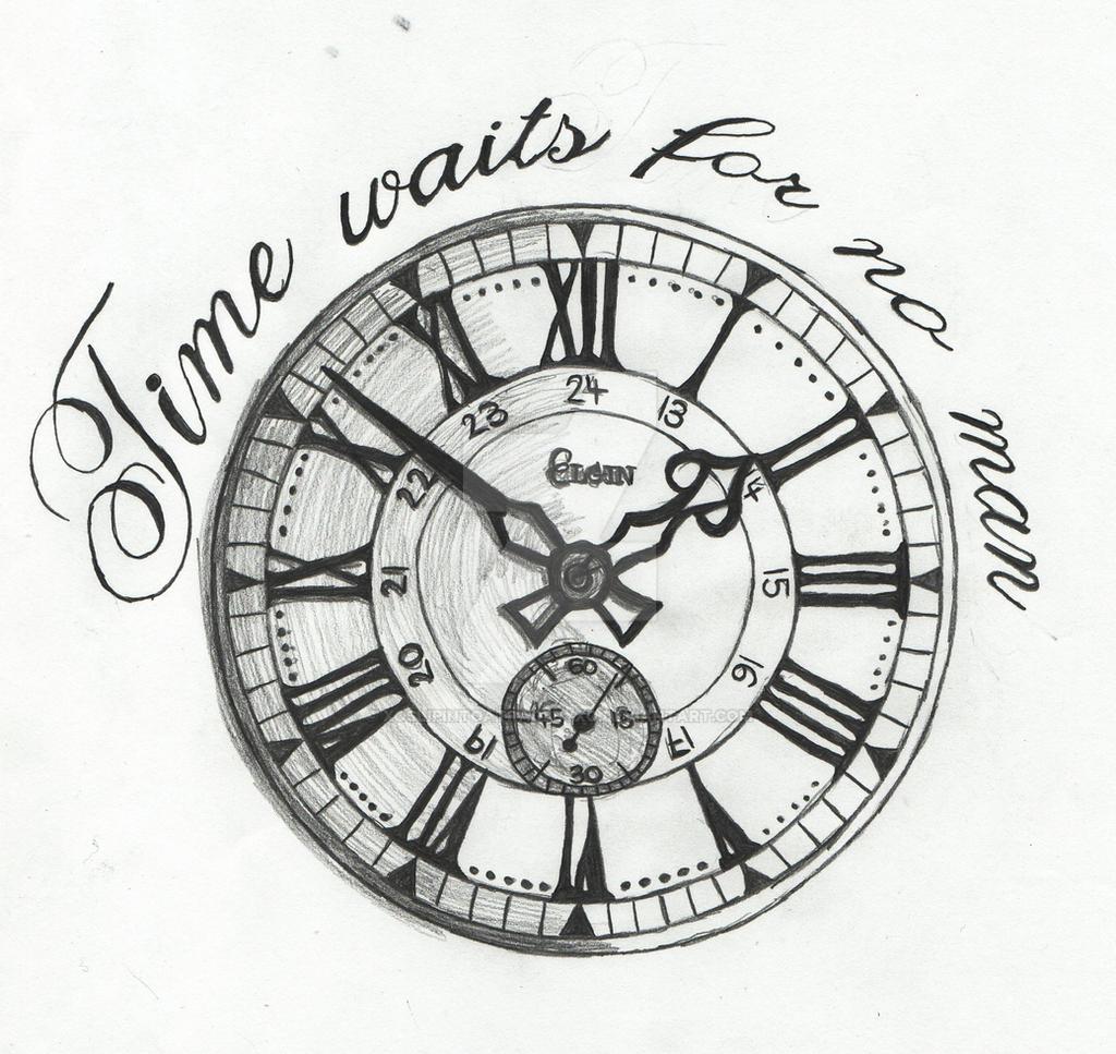 Time Waits For No Man By Xoslipintoatragedyxo On Deviantart