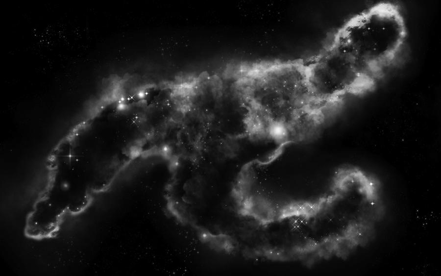 Nebula 5 - Black and White by wuestenbrand on DeviantArt