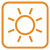 Weather Symbols - Sunny by wuestenbrand