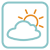 Weather Symbols - Cloud And Sun by wuestenbrand