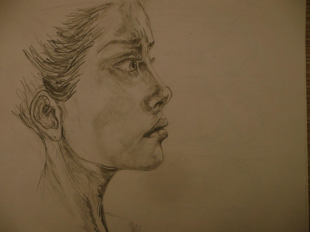 Just a girl by NdezdaKashilska